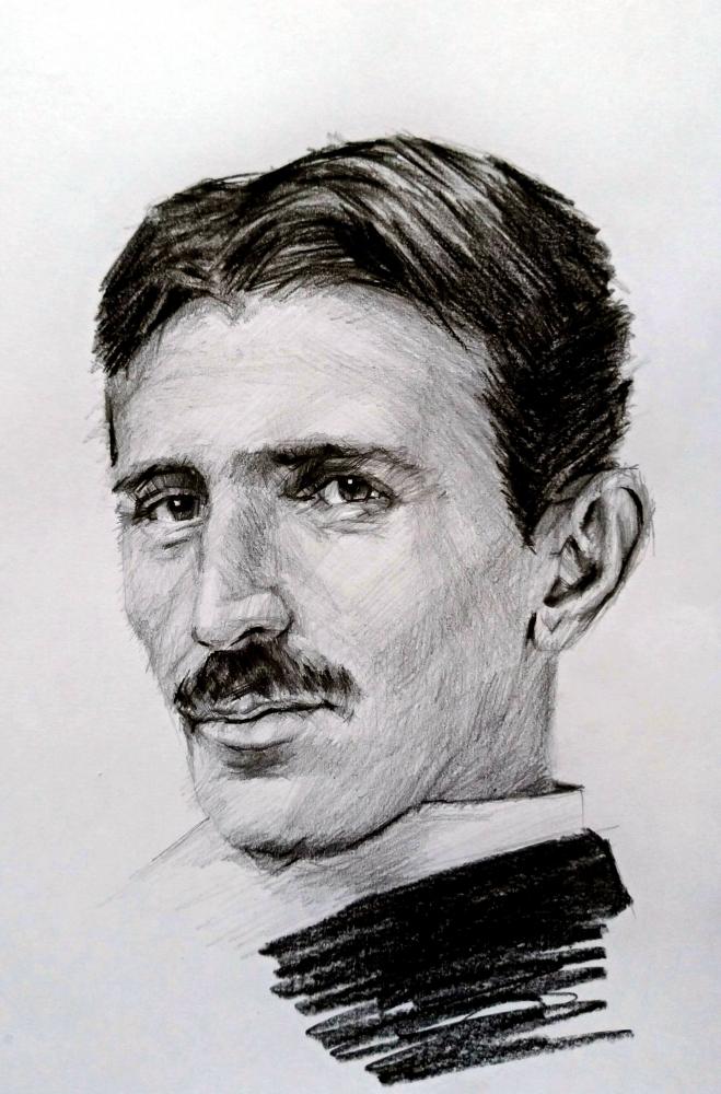 Nikola Tesla par linshyhchyang